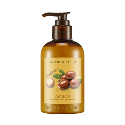 Dầu Xả Phục Hồi Hư Tổn Nature Republic Argan Essential Deep Care Conditioner 1