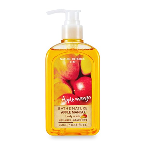 Sữa Tắm Nature Republic Bath & Nature Apple Mango Body Wash 1