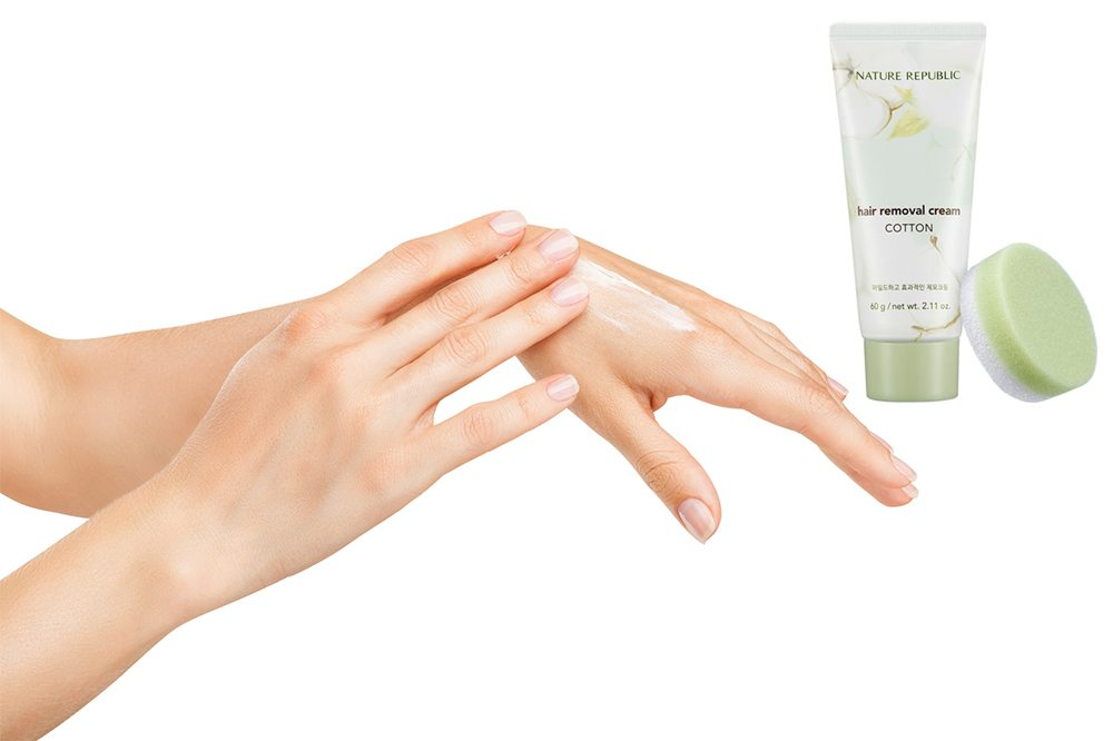 Kem Tẩy Lông Toàn Thân Nature Republic Cotton Hair Removal Cream 1
