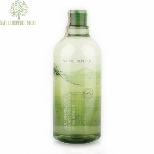 Dung Dịch Tẩy Trang Nature Republic Jeju Sparkling Cleansing Water