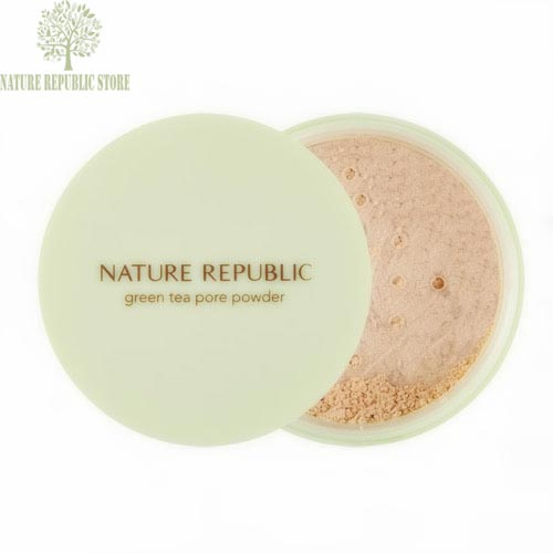 Phấn Phủ Nature Republic Botanical Green Tea Pore Powder