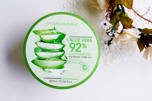 Gel lô hội Nature Republic Aloe Vera