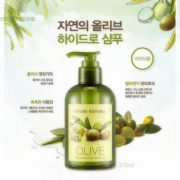 Tất Cả Loại Da Phù Hợp Khi Dùng Dầu Gội Natural Olive Hydro Shampoo Nature Republic
