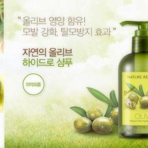 Dầu Gội Natural Olive Hydro Shampoo Nature Republic Store Hàng Chính Hãng