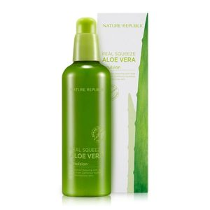 Sữa Dưỡng Ẩm Lô Hội Nature Republic Real Squeeze Aloe Vera Emulsion 1