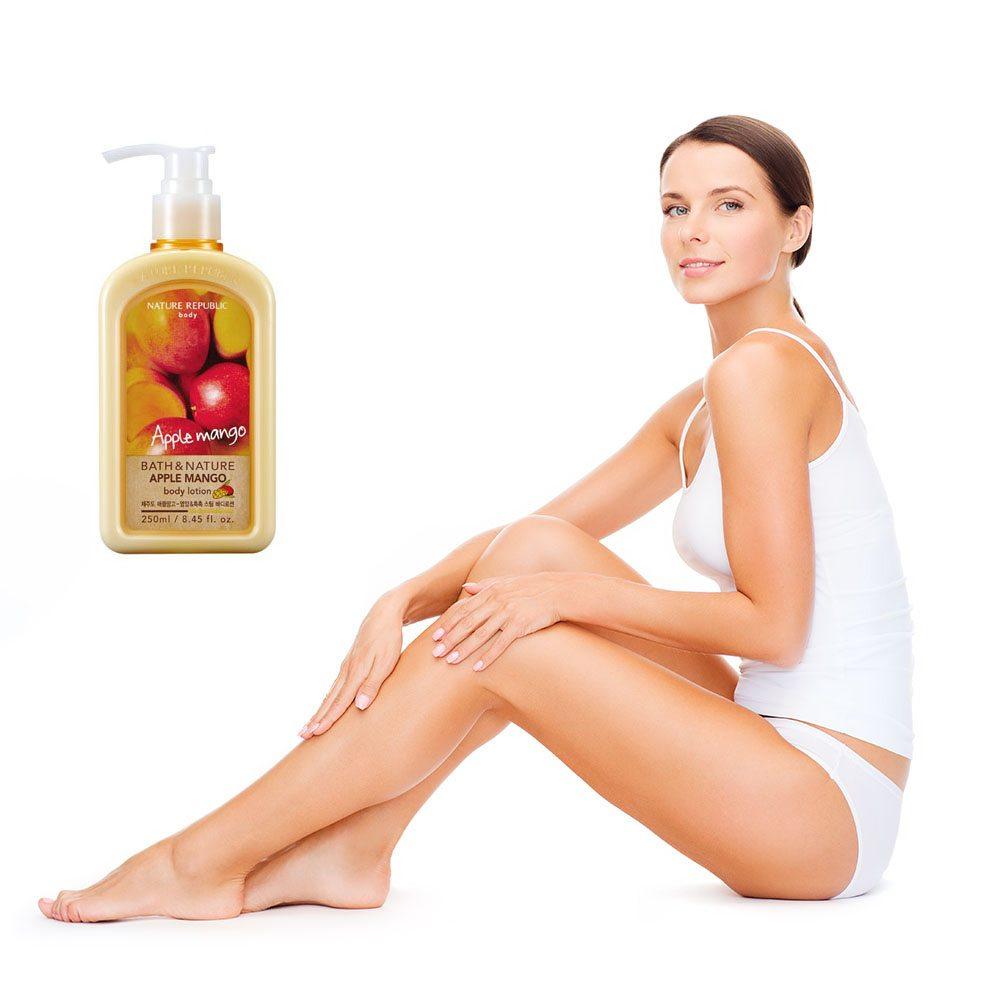 Sữa dưỡng thể Nature Republic Bath & Nature Apple Mango Body Lotion 1
