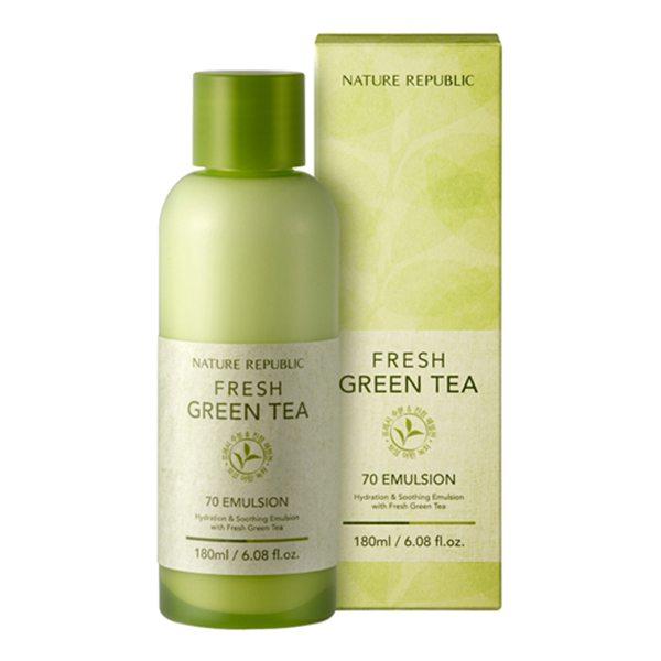 Sữa dưỡng trà xanh Fresh Green Tea 70 Emulsion 1