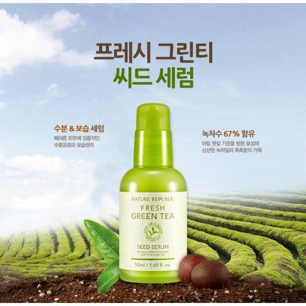 Tinh chất dưỡng Fresh Green Tea Seed 1
