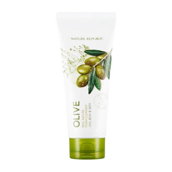 sua-rua-mat-chiet-xuat-hat-olive-real-nature-olive-foam-cleanser-1