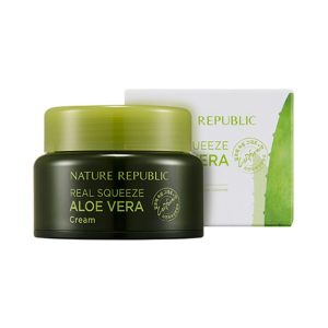 Kem dưỡng da Nature Republic Real Squeeze Aloe Vera Cream 1