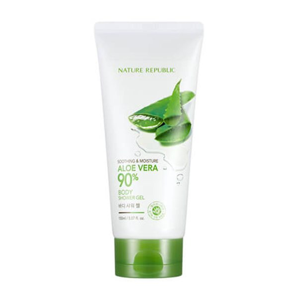 Gel Tắm Dưỡng Ẩm Nature Repuclic Soothing & Moisture Aloe Vera 90% Body Shower Gel 1