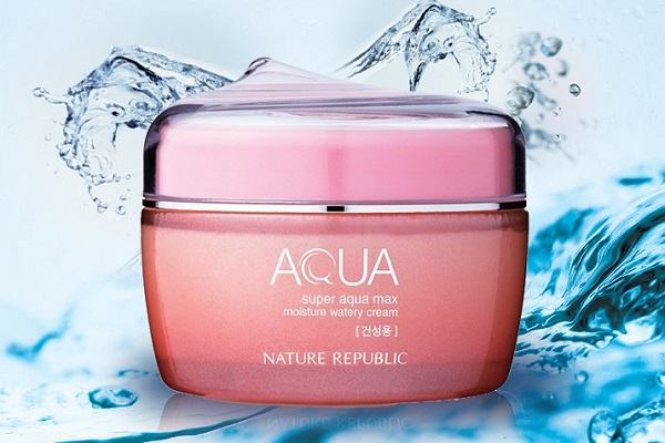 Kem dưỡng ẩm Nature Republic Super Aqua Max Moisture Watery Cream 1