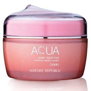 Kem dưỡng ẩm Super Aqua Max Moisture Watery Cream 1