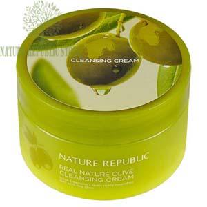 Kem Tẩy Trang Olive Nature Republic