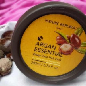 Kem Ủ Tóc Nature Republic Argan Essential Không Làm Khô Da Đầu