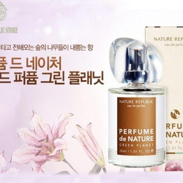 Nước Hoa Nature Republic Perfume de Nature Green Planet