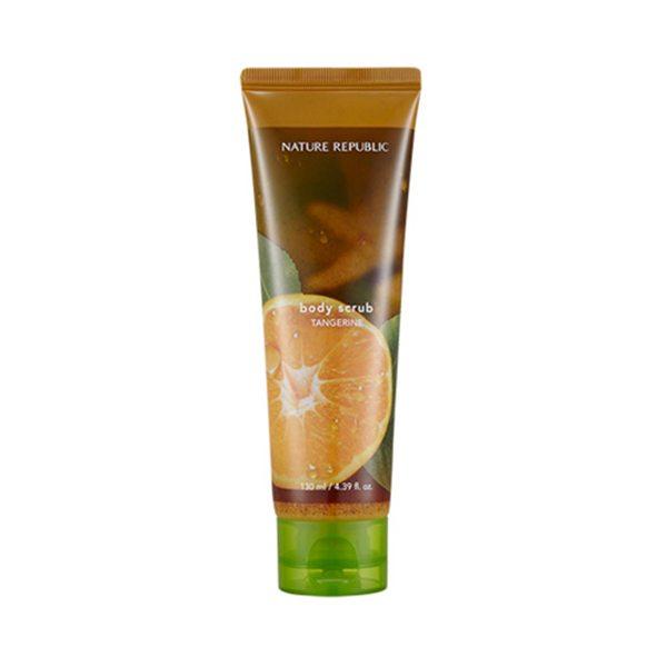 Tẩy Tế Bào Chết Nature Republic Bath & Nature Tangerine Body Scrub Wash 1