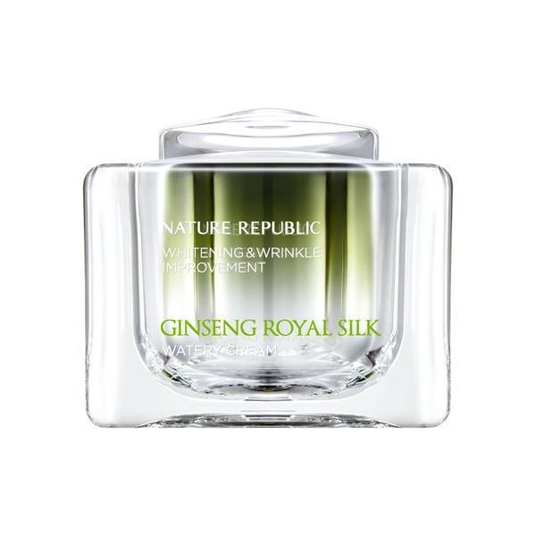 Kem dưỡng da chiết xuất từ vàng và nhân sâm Nature Republic Ginseng Royal Silk Watery Cream 1