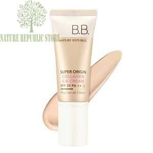 Hướng dẫn sử dụng và bảo quản Kem BB Nature Republic Nature Origin Collagen