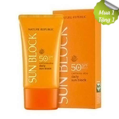 kem chống nắng proven cendula daily spf 50 nature republic