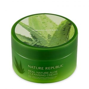Kem Tẩy Trang Nature Republic Real Nature Aloe Cleansing Cream