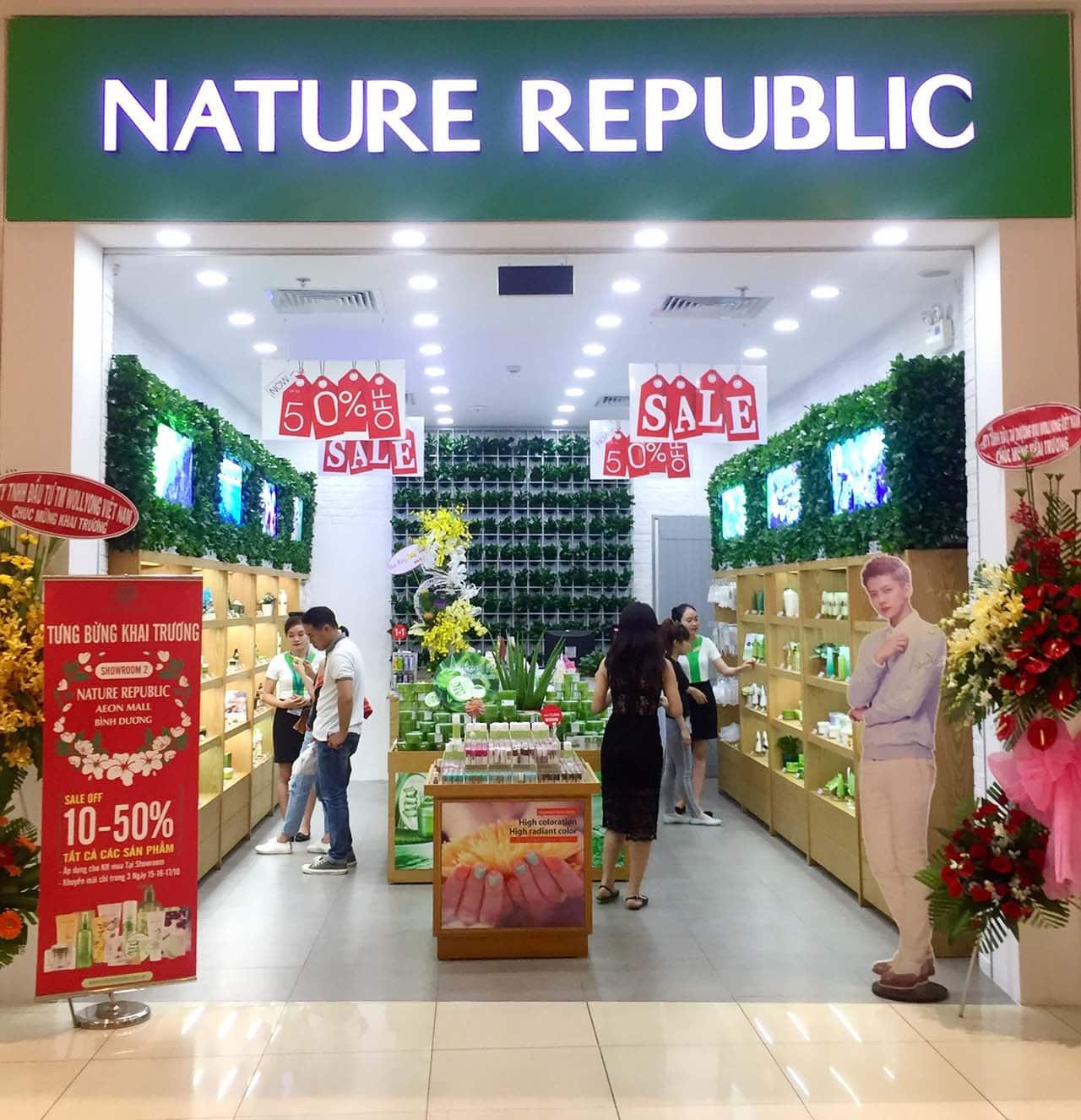 Cửa Hàng Nature Republic Store tại Aeon Mall Bình Dương