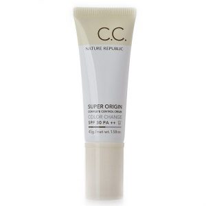 Kem che khuyết điểm Nature Republic Super Origin Complete Control Cream Color Change SPF30 PA++