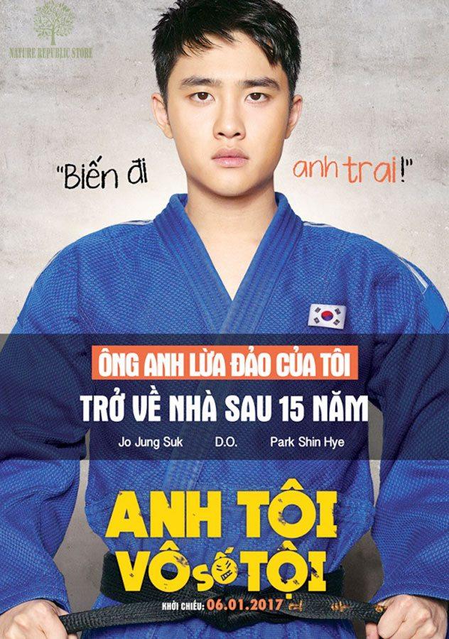 Go Doo-young (D.O EXO) trong phim ANH TÔI VÔ SỐ TỘI