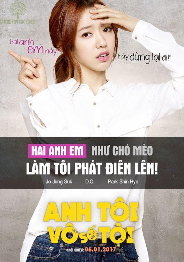 Park Shin-hye thủ vai Soo-hyun trong phim ANH TÔI VÔ SỐ TỘI