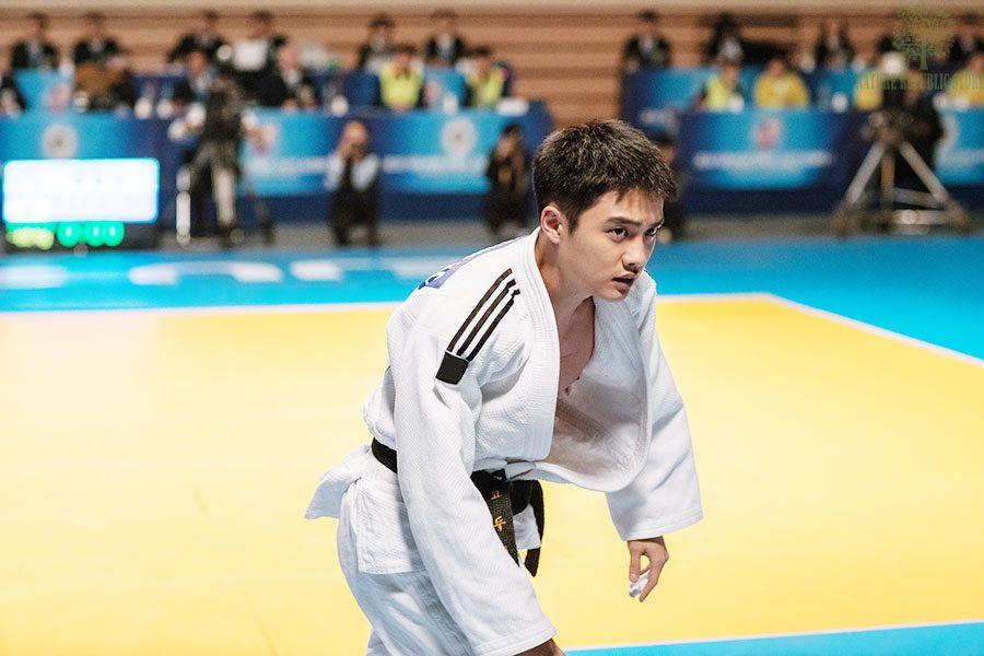 Doo-young(D.O) vận động viên judo của đội tuyển quốc gia