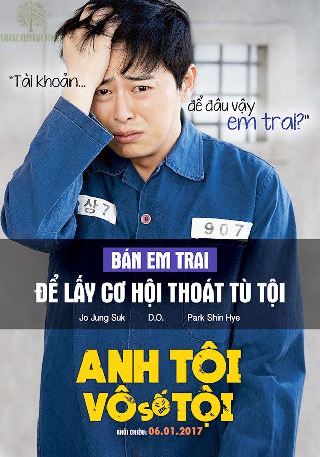 Jo Jung-suk mang vẻ mặt đau khổ tội nghiệp trong ANH TÔI VÔ SỐ TỘI