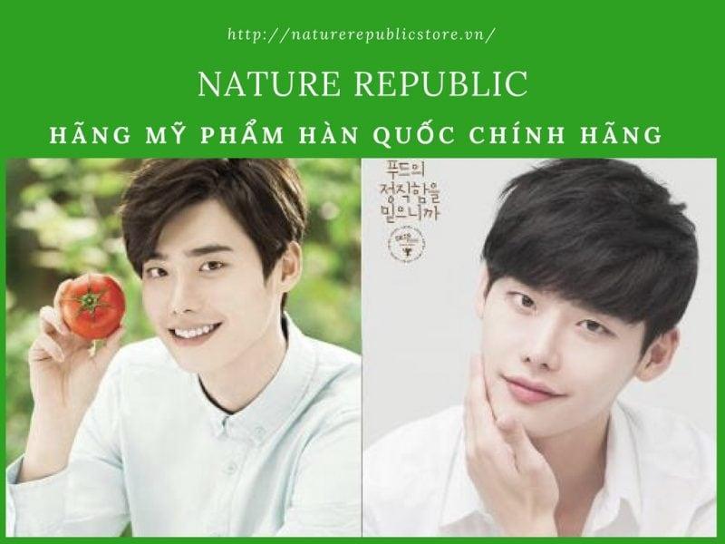 Mỹ phẩm Hàn Nature Republic thành phần tự nhiên 100%