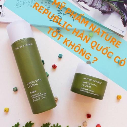 bán mỹ phẩm nature repulic , mỹ phẩm nature repulic có tốt không?