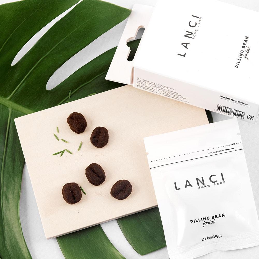 Tẩy Tế Bào Chết Lanci Pilling Bean Premium Coffee Scrub Soap